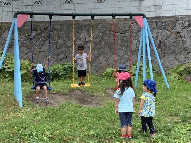 ⭐幼稚園の8月の予定⭐